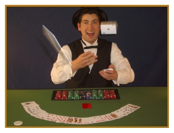 One of our Professional Casino Dealers